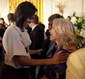 Robyn Ochs at White House, 2009